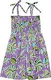 RJC Girls Mondern Flower Elastic Tube Dress PURPLE 10
