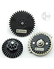 Airsoft High Torque 18:1 Gear Set M4 AK47 V2 V3 High Density Steel Gearbox cogs