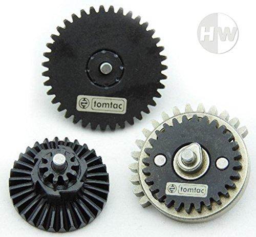 AIRSOFT NORMAL SPEED 16:1 GEAR SET M4 AK47 V2 V3 HIGH DENSITY STEEL gearbox...