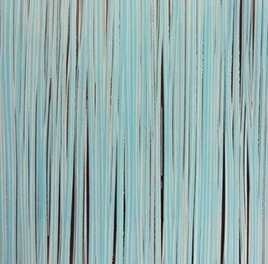 Blue Stripes Chocolate Transfer Sheets For Cake Decoration