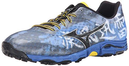 41 Eu 5 Azul Us Hayate Zapato Correr Hombre Wave Para Mizuno 8 HOP7qH4