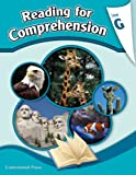 Reading Comprehension Workbook: Reading for Comprehension, Level G - 7th Grade