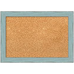 Amanti Art DSW3907475 Cork Board, Small-20 x 14, Blue