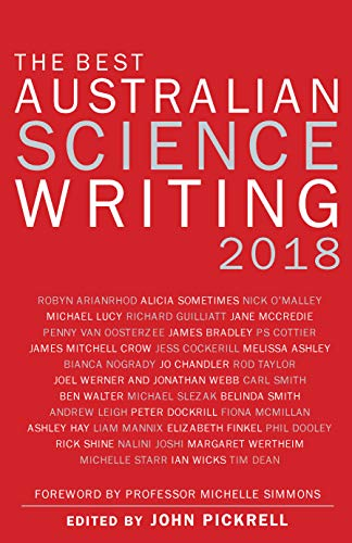 The Best Australian Science Writing 2018
