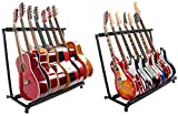 YMC Folding Multiple Guitar Stand for Acoustic