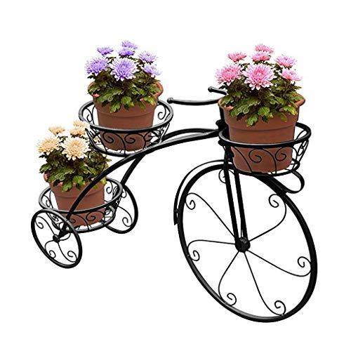 Trike Fiets Metalen Planter Stand Driewieler Plant Stand, Iron Art Bloempot Kar Houder, Bloempot Plantenhouder Display…