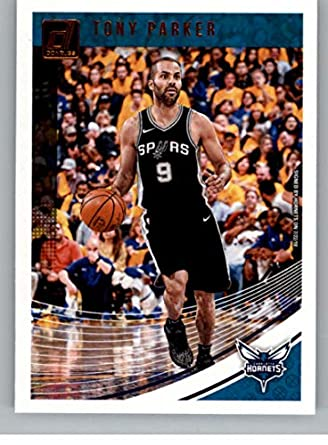 b4914f28 2018-19 Donruss Basketball #48 Tony Parker Charlotte Hornets Official Panini  NBA Trading Card