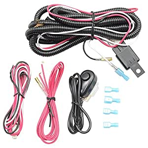 lights wiring harness kits fits most cars. Black Bedroom Furniture Sets. Home Design Ideas