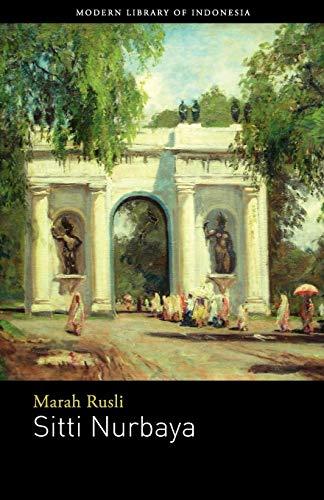 Sitti Nurbaya: Novel