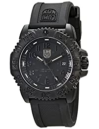 Luminox Men's Navy Seal Colormark 3050 Series All Black Watch 3051.BO