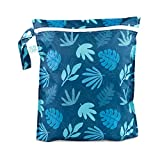 Bumkins Wet Bag - Blue Tropics