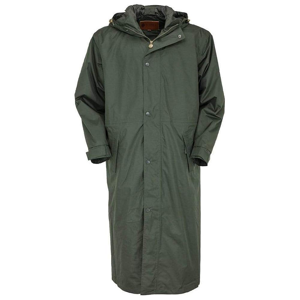 Outback Trading Pak-A-Roo Duster Rain Coat for Men Dark Olive Small by Outback Trading