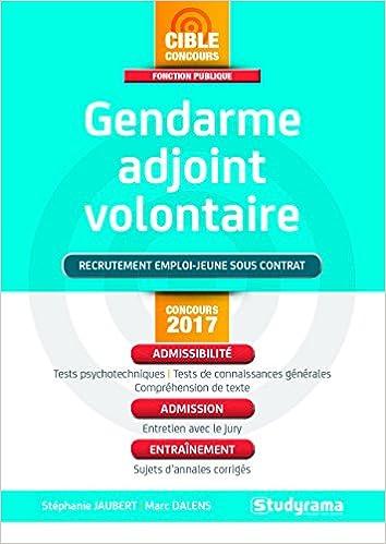 En ligne téléchargement Gendarme adjoint volontaire : Recrutement emploi-jeune sous contrat pdf, epub ebook