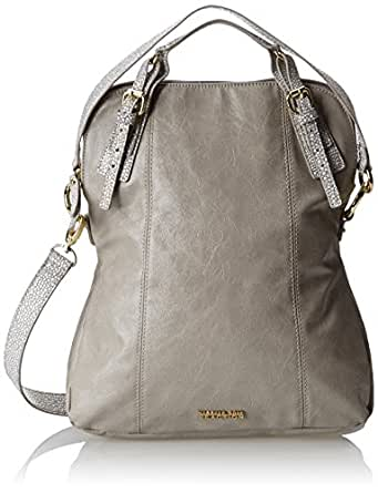 Kenneth Cole Reaction In The Loop Convertible Shoulder Bag,Dove/Dove Stingray,One Size