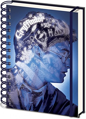 Harry Potter Carnet Bloc-Notes - Magic Portrait 3D Cover (21 x 15 cm) 1art1®