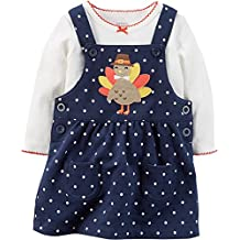 Carter's Baby Girls' 2 Piece Top and Jumper Set