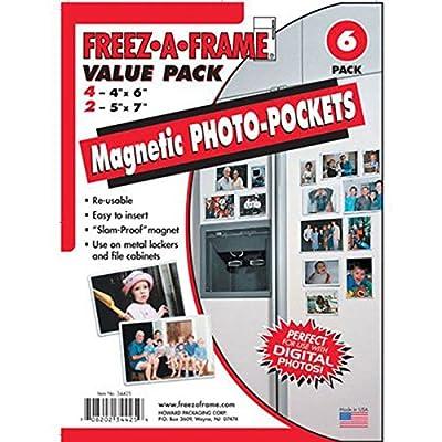 FREEZ-A-FRAME 34425 Magnetic Photo Picture Frames Set