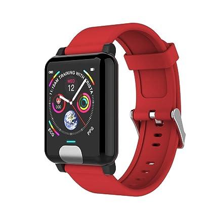 Amazon.com: WINAWORLD E04/Red Smart Bracelet Sport Fitness ...