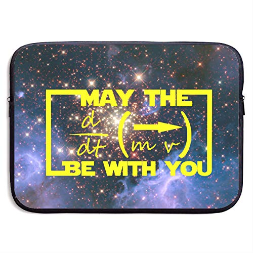 May The Equation Be with You Galaxy Laptop Sleeve Case Bag Cover for Apple MacBook/Asus/Acer/Samsung/DELL/HP/Lenovo/Sony/RCA Computer 13 -
