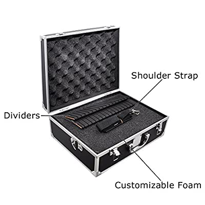 eCostConnection 1 Small Hard Camera Equipment Case for Pentax K-01, K-3, K-5, K5 Ii, K-5 Iis K-7 and More Plus Microfiber Cloth