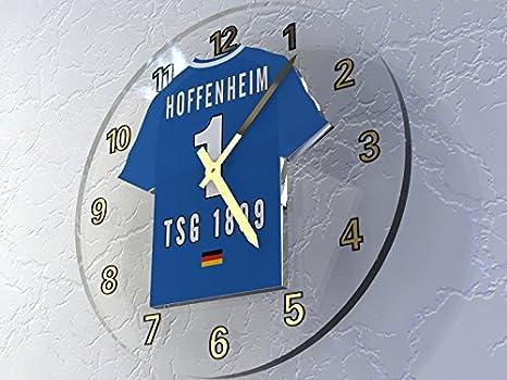 Bundesliga alemana de fútbol relojes de pared - Fußball-Bundesliga fußballuhr, cualquier nombre, cualquier número, cualquier equipo.