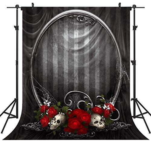 OUYIDA Halloween Theme 6X9FT Pictorial Cloth Seamless Customized Photography Backdrop Background Studio Prop TP139]()