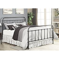 Coaster 300399KE Home Furnishings Bed, Eastern King, Dark Bronze