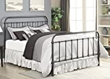 Livingston King Bed Dark Bronze