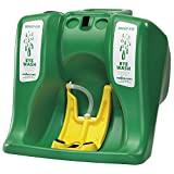 Sellstrom S90320 Gravit-Eye 16 Gallon All-Purpose, Gravity Flow, Portable Eyewash Unit, Green