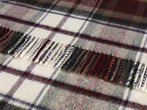 (Tartan - Merino Lambswool - Dress Macduff - Throw Blanket)