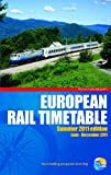 European Rail Timetable Summer 2011, Thomas Cook Publishing, 1848484097