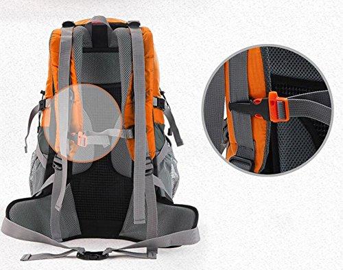 HWLXBB Outdoor Bergsteigen Paket Männer und Frauen 40L Wasserdichte Licht Mehrzweck Bergsteigen Tasche Wanderung Berg Bergsteigen Rucksack ( Farbe : 3* )