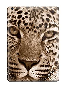 High Grade MeaganSCleveland Flexible Tpu Case For Ipad Air - Leopard
