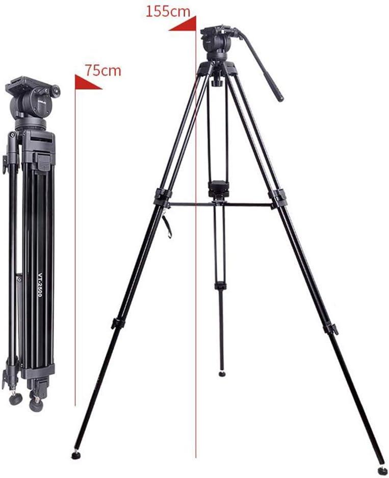 YTBLF Portable Camera Tripod Travel Compact Multi-Tube Aluminum Tripod for Mobile Digital SLR Cameras 360/° Panoramic View