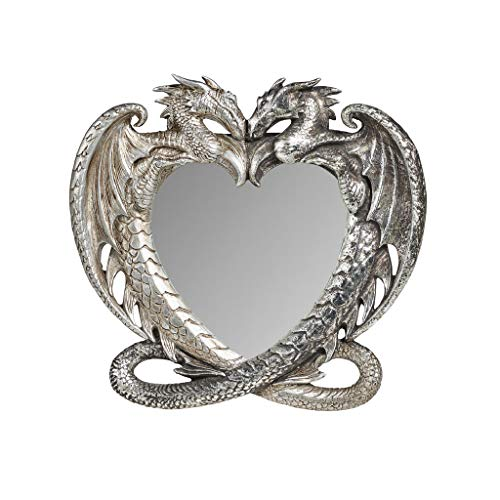 Gothic Dragon s Heart Mirror