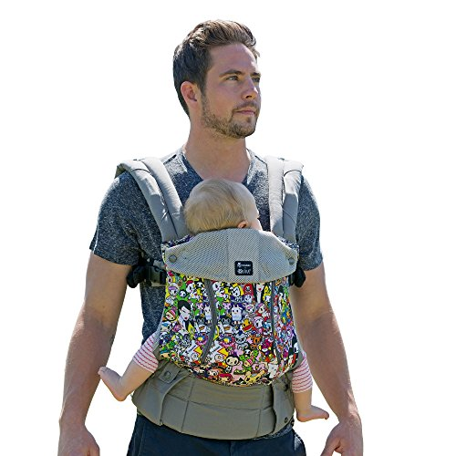 lillebaby-Complete-All-Seasons-6-in-1-Baby-Carrier-Grey-Toki-Doki-Iconic-Stone