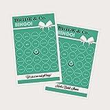 3 sets of 16 Bride & Co Bingo