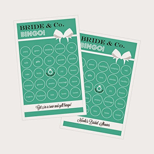 3 sets of 16 Bride & Co Bingo by Eventblossom