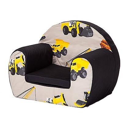 Ready Steady Bed® diseño de excavadoras de los niños espuma asiento Sillón