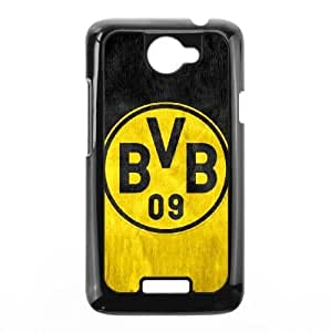 Hard Back Cover Protector Bjoyh HTC One X Cell Phone Case Black BVB Borussia Dortmund Design Durable Phone Cases