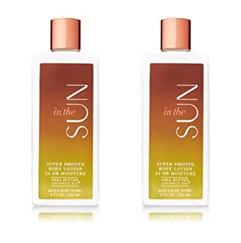 Bath & Body Works In The Sun Super Smooth Body Lotion (2 Pack)