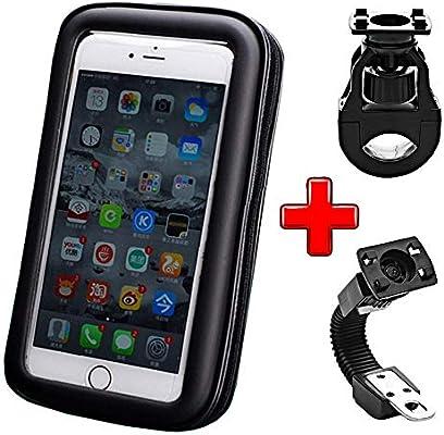 ICOOM Soporte para Smartphone Impermeable Universal de fijación ...