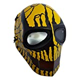 Invader King ™ Yellow Crank Airsoft Mask Protective Gear Outdoor Sport Masks Bb Gun