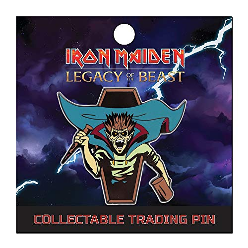 Iron Maiden : Legacy of the Beast Lapel Pin - Vampire Hunter Eddie ()