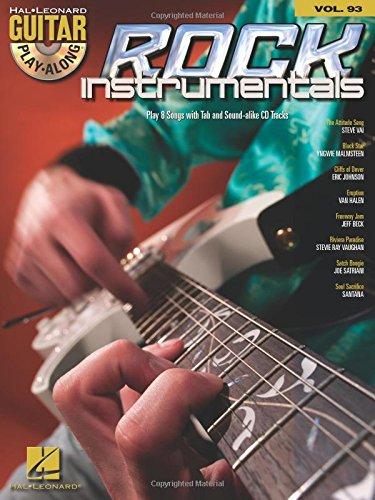 ROCK INSTRUMENTALS - GUITAR PLAY-ALONG VOLUME 93 (BOOK/CD)