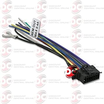 amazon com sony 16 pin wiring harness for wx gt80ui, cdx gt575up Sony Car Stereo Wiring Diagram sony 16 pin wiring harness for wx gt80ui, cdx gt575up, mex