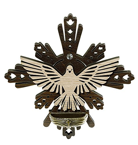 Catholica Shop Holy Spirit Dove Holy Water Font, Made in Brazil