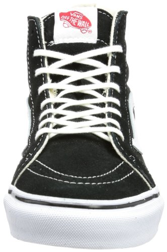 unisex WHIT Schwarz TRUE Zapatillas Black BLACK SLIM Vans HI negro SK8 True Whit lona U de RqYw1Fv4