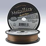 Supplies-Beading Wire-Fine-Soft Flex Metallics-.014 Copper-21-Strand-30 Foot Spool