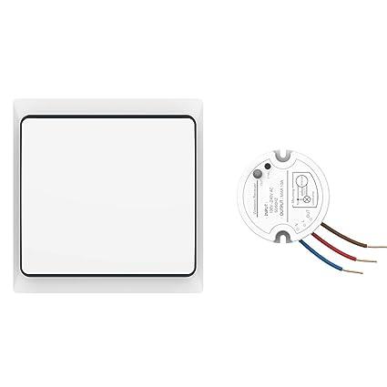 Sensational Crelander Self Powered Waterproof Wireless Light Switch Kit On Off Wiring Cloud Hisonuggs Outletorg